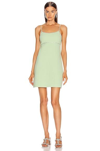 Jewel Spaghetti Strap Mini Dress