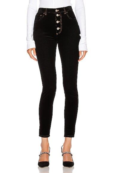 Miu Miu Skinny Pant In Black
