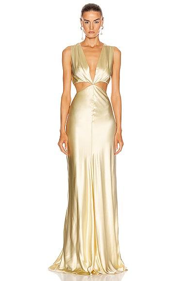 Monaca Cut Out Gown