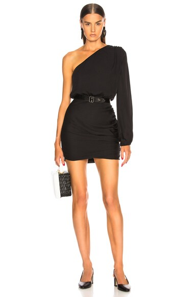 for FWRD One Sleeve Mini Dress