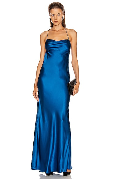Cowl Bias Gown