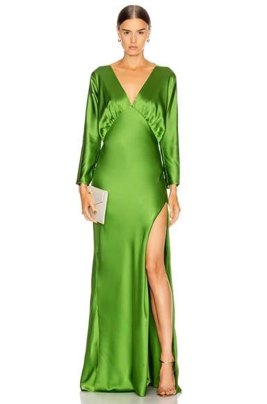Dolman Sleeve Gown