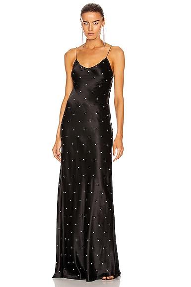 Crystal Bias Gown