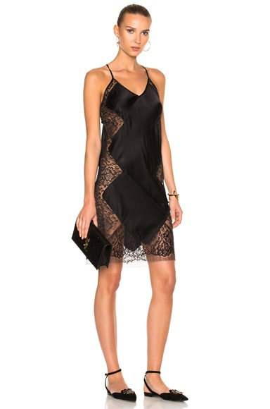 Lace Inset Slip