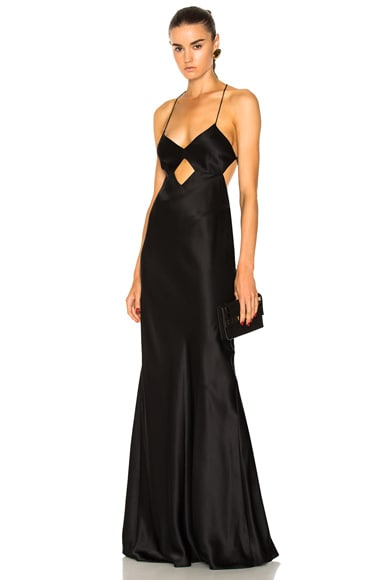 Cut Out Gown