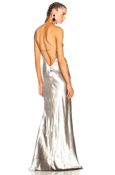 Bias Maxi Gown
