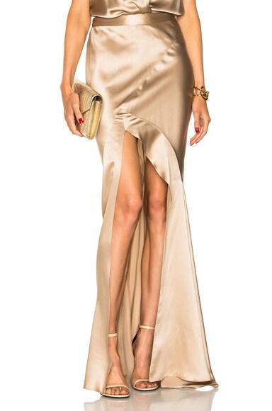 Bias Maxi Skirt