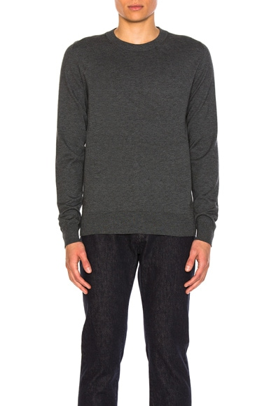 Elbow Patch Pullover Sweater