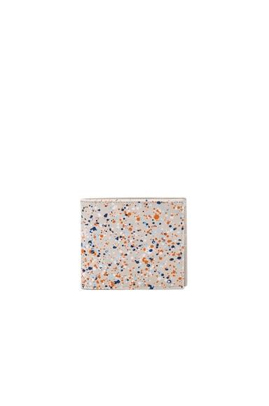 Pollock Effect Billfold Wallet