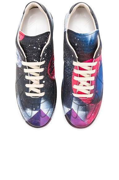 Space Print Replica Sneakers
