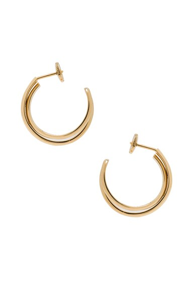 Fine Twisted Earrings