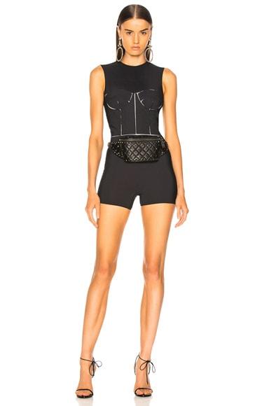 Bodice Cutout Bodysuit