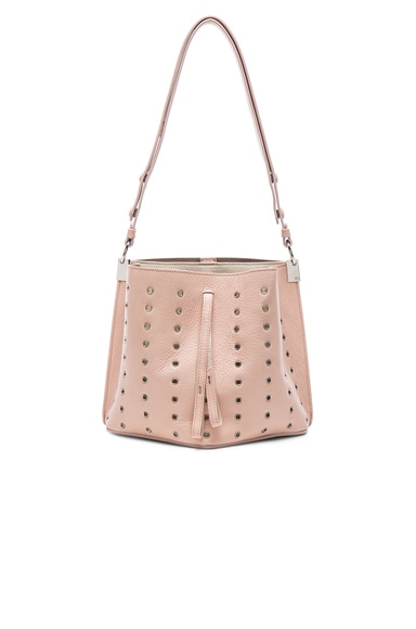 Mini Eyelet Leather Bag