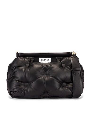 Glam Slam Tufted Shoulder Bag