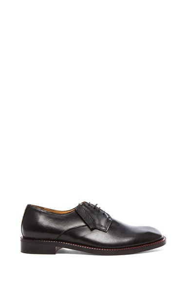 Brushed Effect Dress Leather Shoes