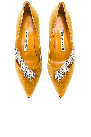Nadira 90 Velvet Heel