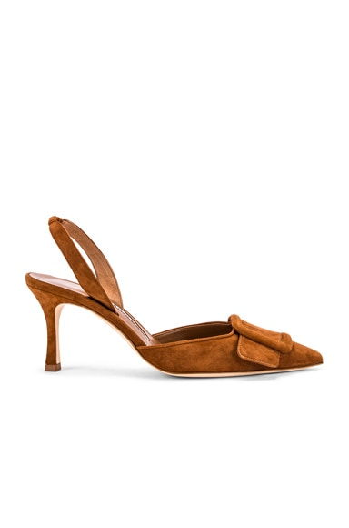 May 70 Suede Slingback