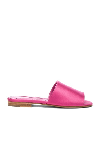 Satin Rapalla Slides