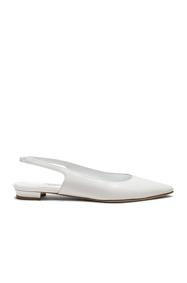 Leather Allura Flats