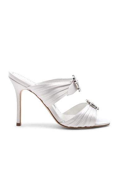 Satin Pow 105 Sandals