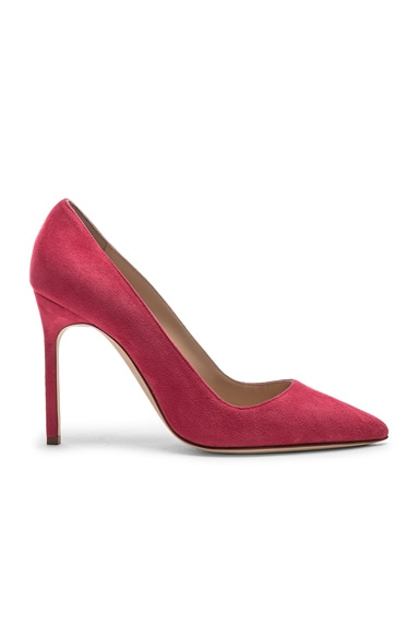 BB Suede Pumps