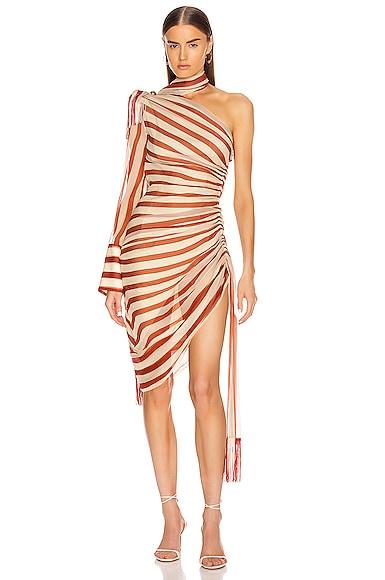 Regalia Scarf Dress