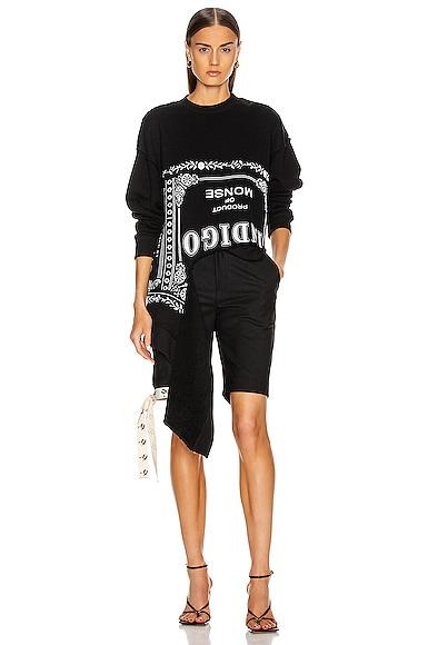 Torn Sweatershirt