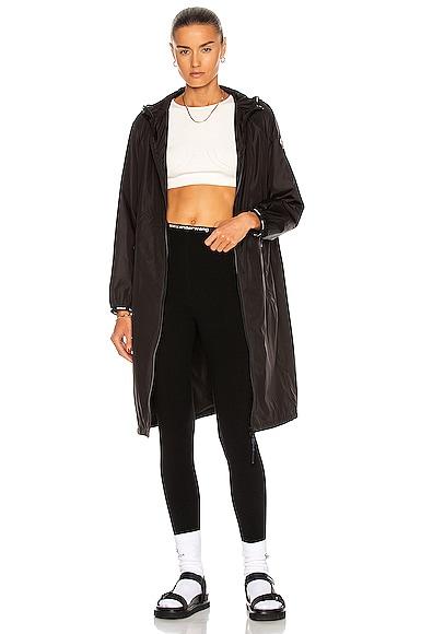 Moncler Rasaben Giubbotto Jacket in Black