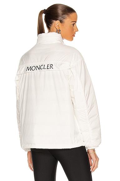 Moncler Menchib Giubbotto Jacket in White