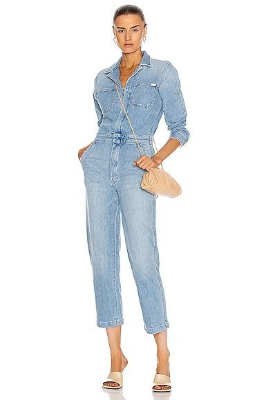MOTHER THE HALF SPRING TAKE-OFF ANKLE JUMPSUIT