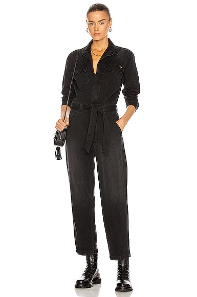 Mother THE BELTED FIXER JUMPSUIT