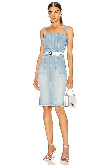 Pocket Hustler Overall Dress