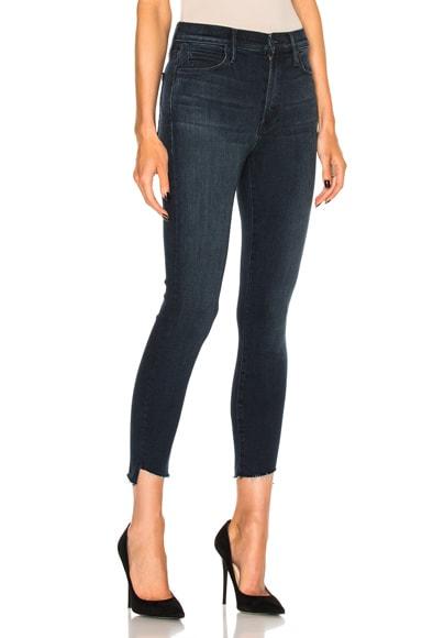 Stunner Zip Ankle Fray Skinny