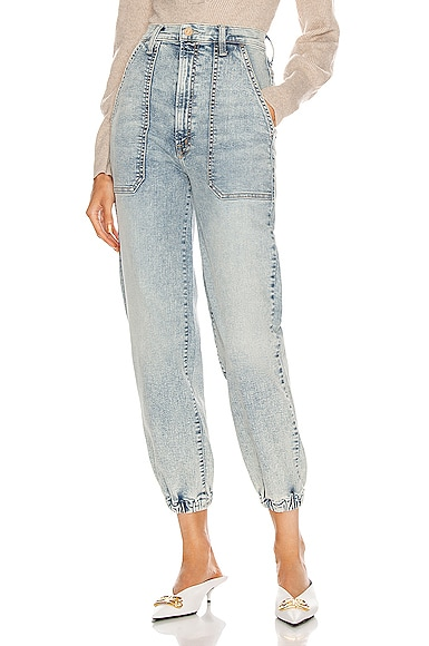Mother Skinny jeans THE WRAPPER PATCH SPRINGY ANKLE