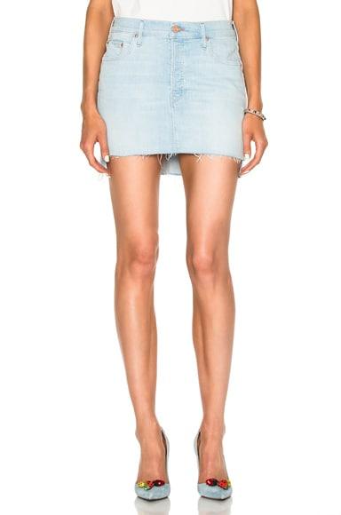 Step Mini Fray Skirt