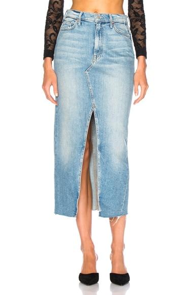 Altered Sacred Maxi Fray Skirt