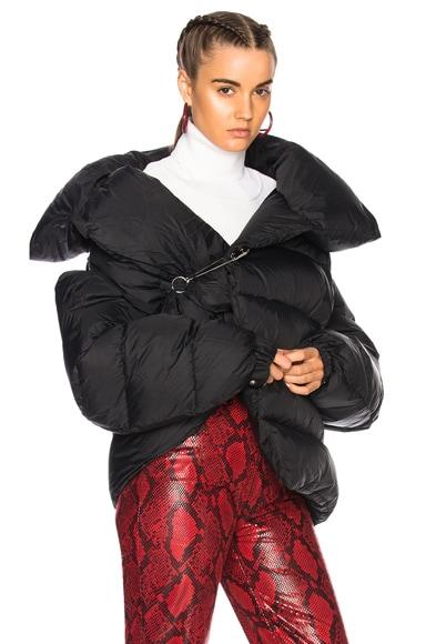 Waterproof Asymmetric Puffa Jacket