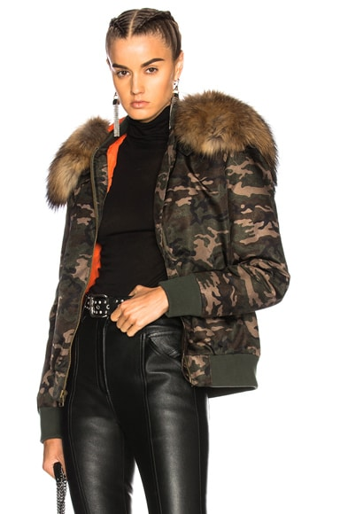 Slim Fit New York Bomber Jacket
