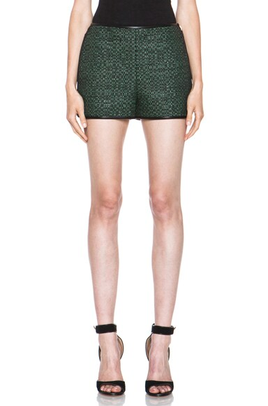 Woven Poly-Blend Shorts