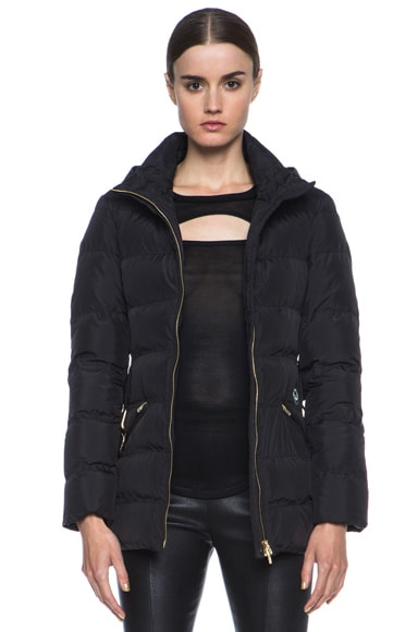 Missoni Solid Puffer Jacket with Hood