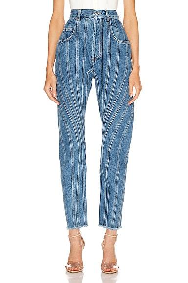 High Spiral Jean