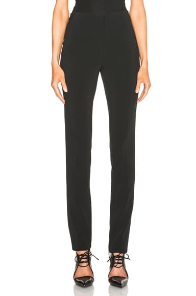 Fitted Cady Trousers