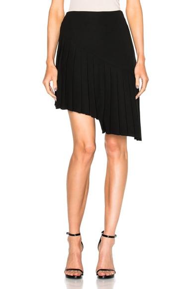 Asymmetrical Pleated Skirt
