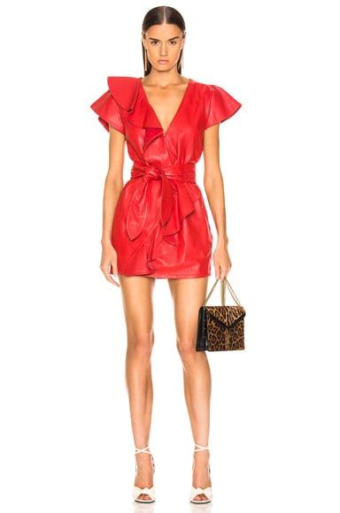 Josefina Leather Dress