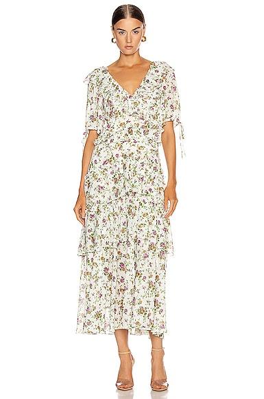 Deandra Tea Length Dress