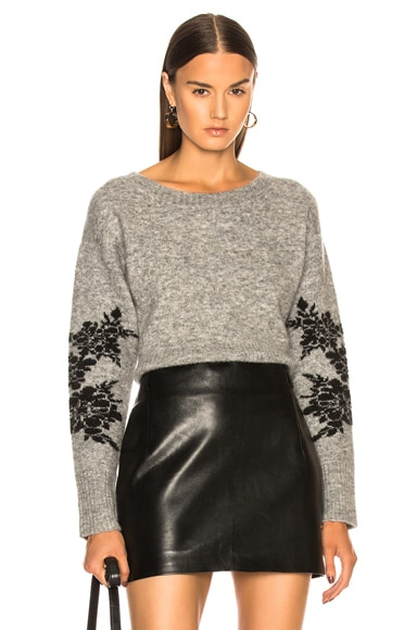 Freda Cropped Sweater