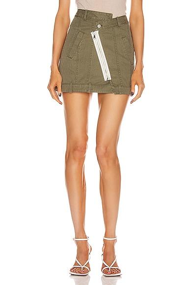 Eliza Heavy Canvas Skirt