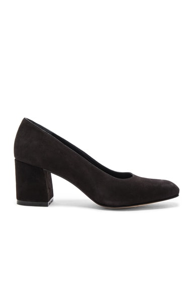 Suede Maryam Pumps
