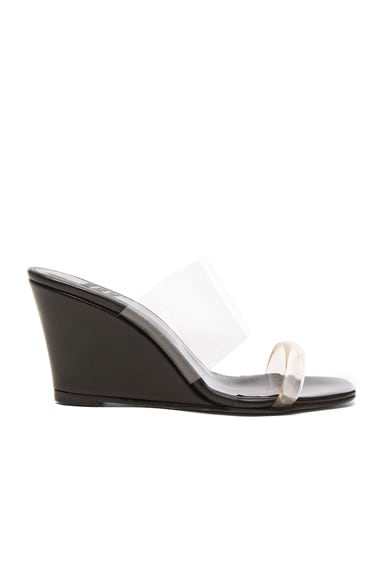 PVC Olympia Wedges