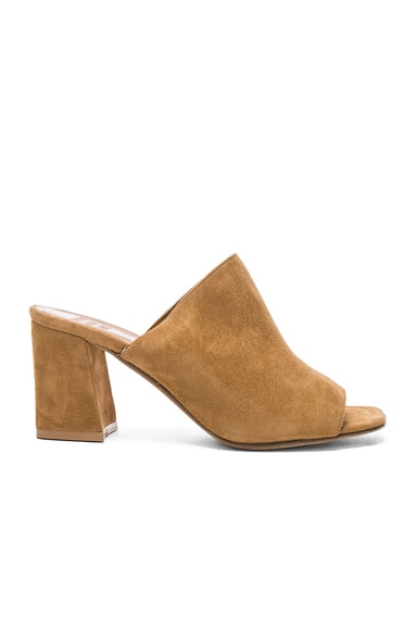 for FWRD Suede Penelope Mules
